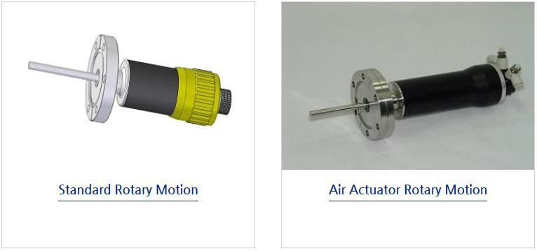 Motech Vecuum UHV Rotary Motion