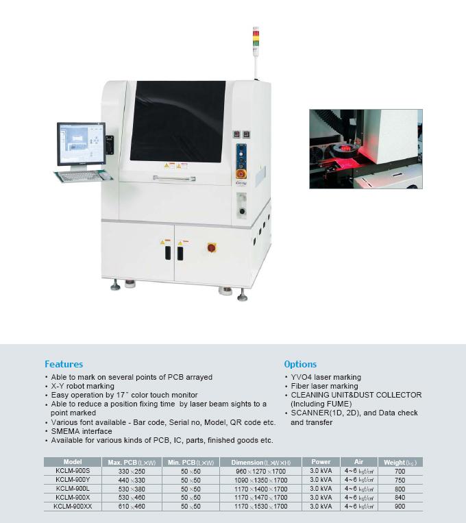 Kiheung FA Laser Marking Machine KCLM-Series