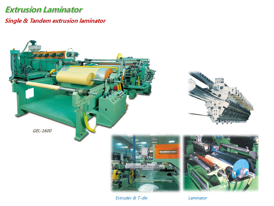 HANKOOK E.M Extrusion Laminator GEL-1600