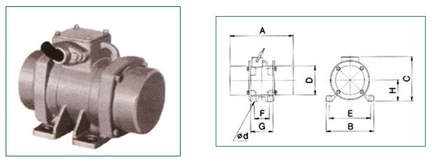 MagMax Rotary Vibrating Motor MRV-Series