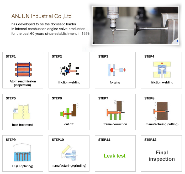 Anjun Industrial Engine Valve  2