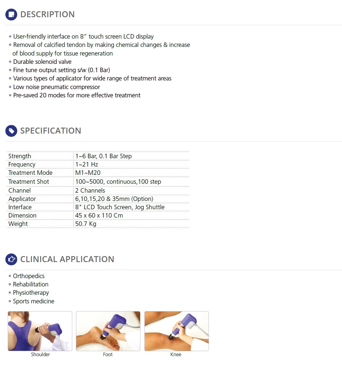 REMED Pain Therapy - Extracorporeal Shockwave Therapy  5