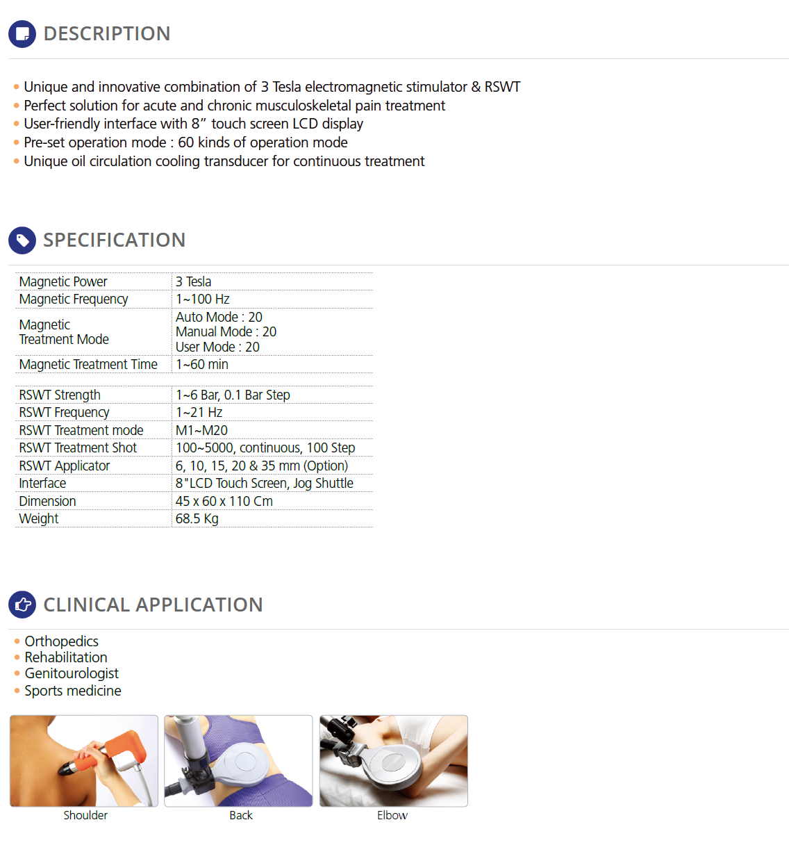 REMED Pain Therapy - Extracorporeal Shockwave Therapy  9