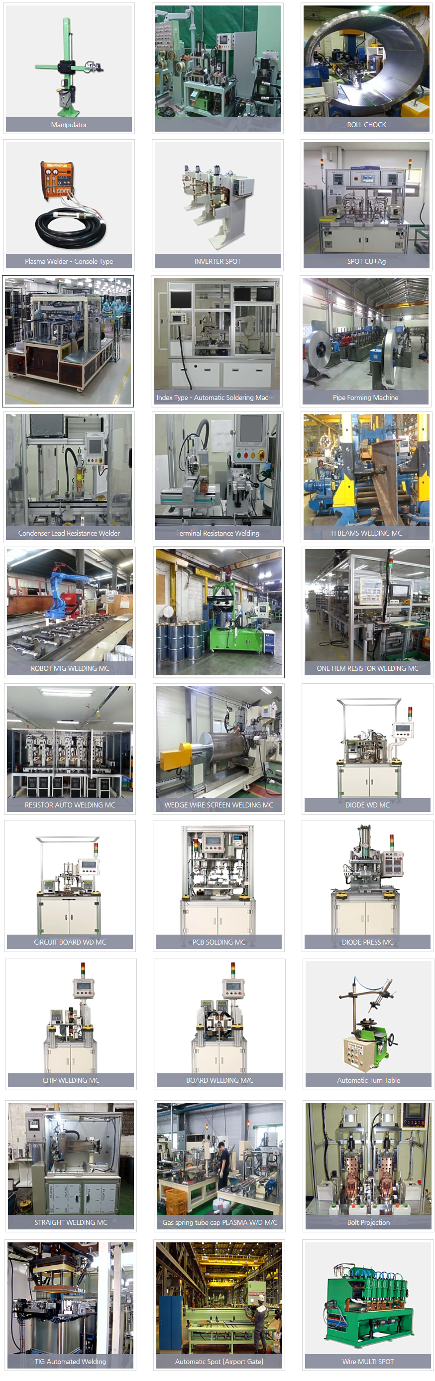 Gana Connect Welding Automation Facility