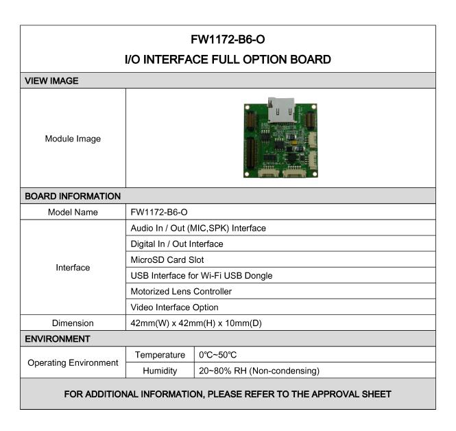 Seyeon Tech Option Board  1