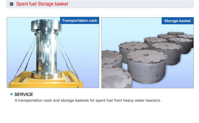 KRSE Cask & Decontamination equipments