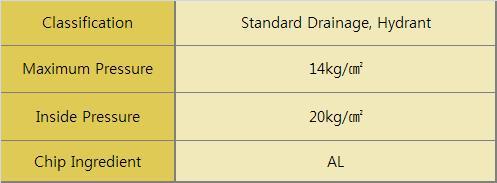 DooJin AL Spray & Stright Nozzle (Standard Drainage, Hydrant 40mm) DSAN2-40
