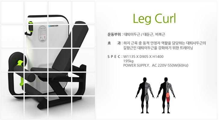 (주)젬텍 Leg Curl  1