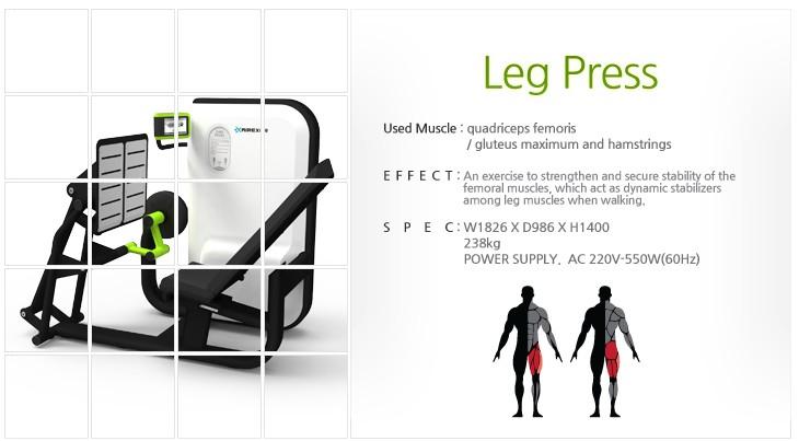 GEM, AIREXER Leg Press