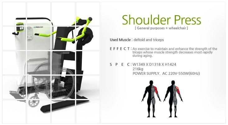 GEM, AIREXER Shoulder Press