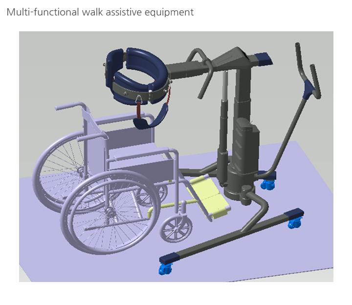 GEM, AIREXER Walk Assistive Equipment