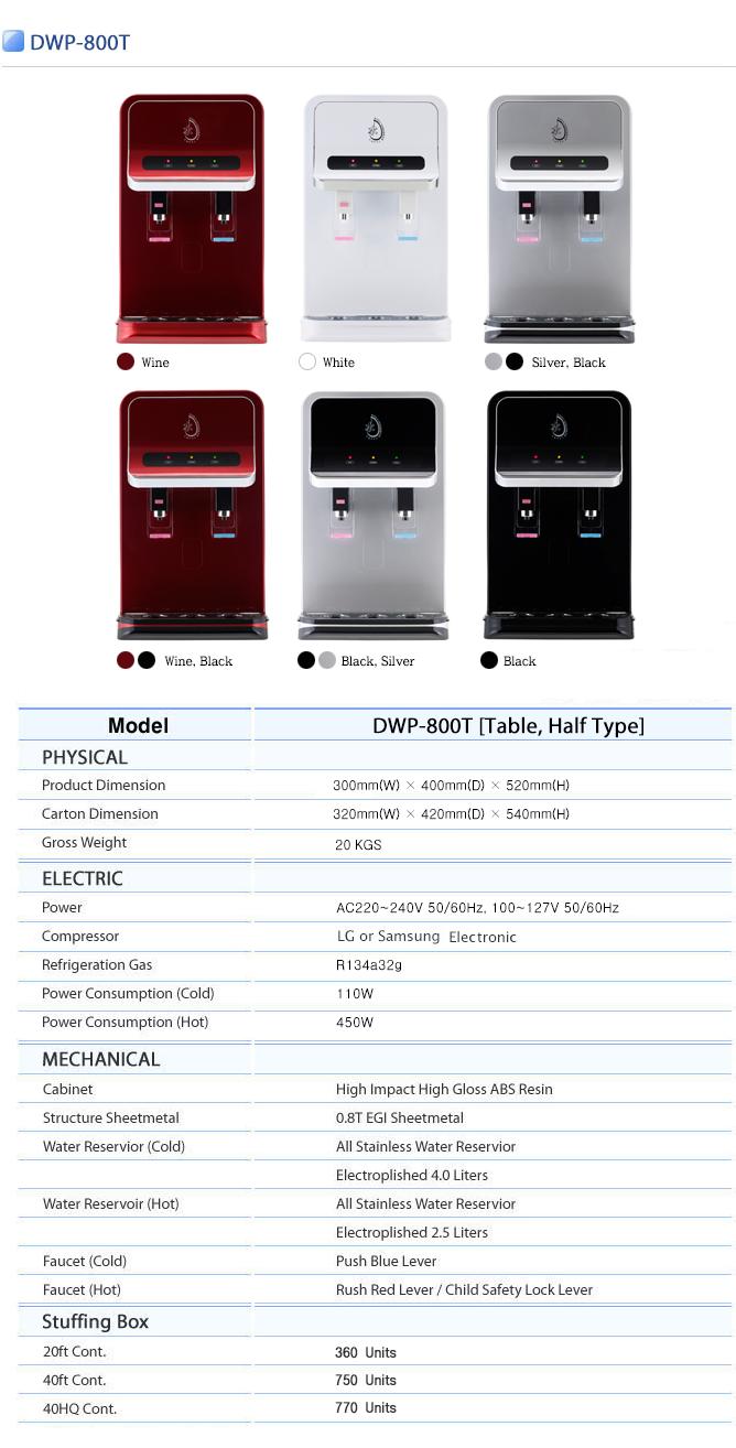APS TECHNOLOGY Water Purifier DWP-800T