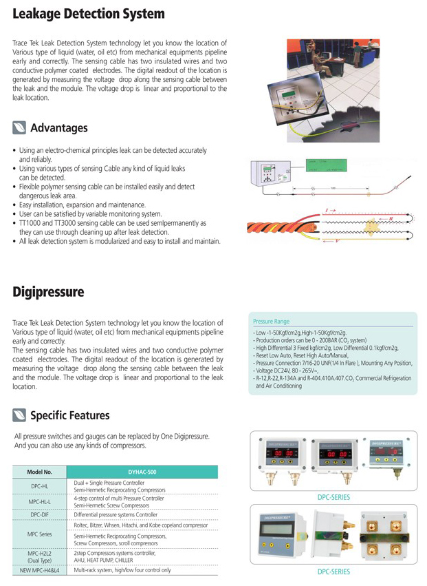 AR Leakage Detection System