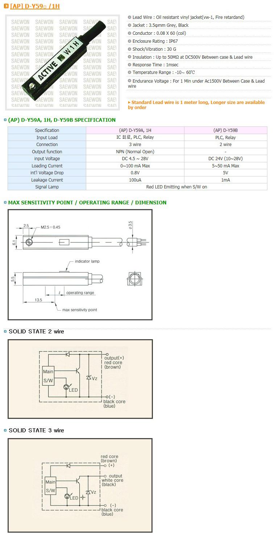 Saewon Electronics PLC AP D-Y59/1H