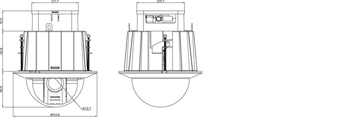 Camlux 2M-Speed Dome Camera CTI-H3100I 2