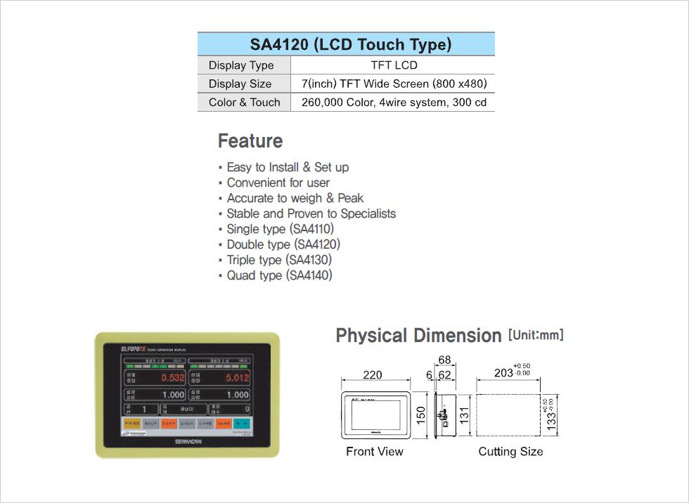 SEWHA CNM Auto Packer Controller SA4120
