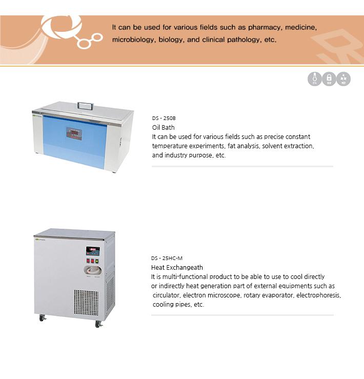 Dasol Scientific Oil Bath / Heat Exchange DS-25 Series