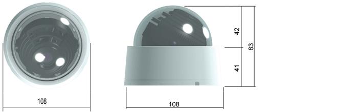Camlux 700TVL (960H) CD-700/701 2
