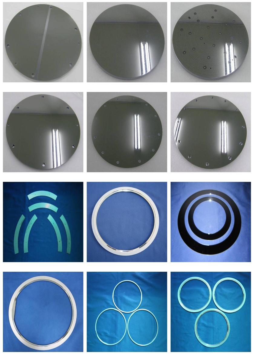 BCnC Silicon Parts