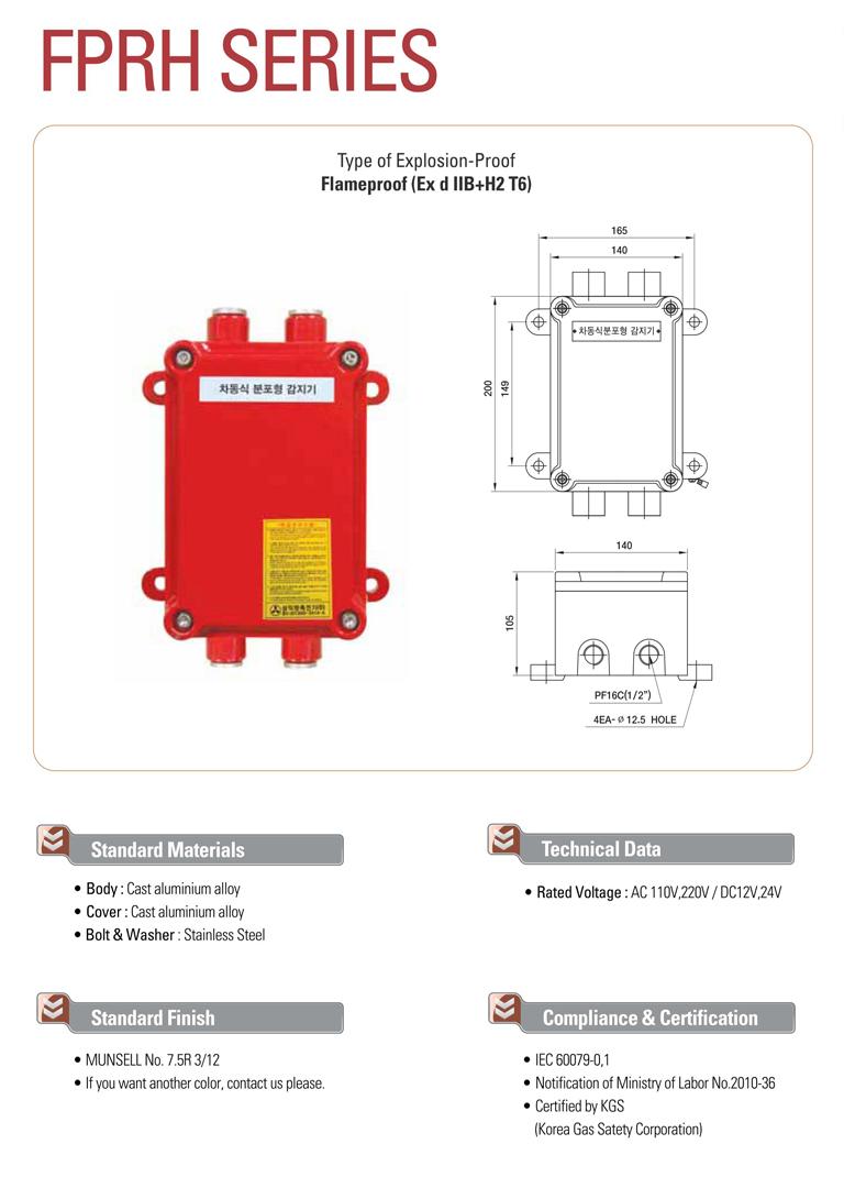 Samik Explosi Onproof Elxctric  FPRH Series