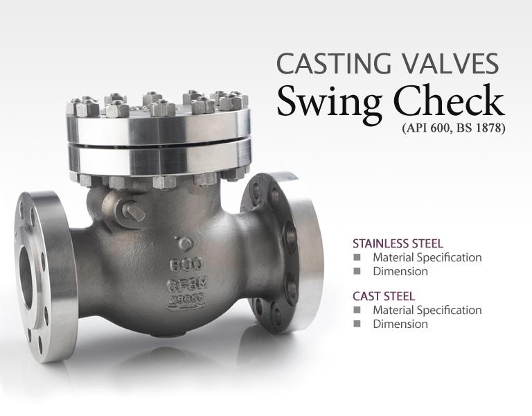 BAVCOS Casting Valves  2