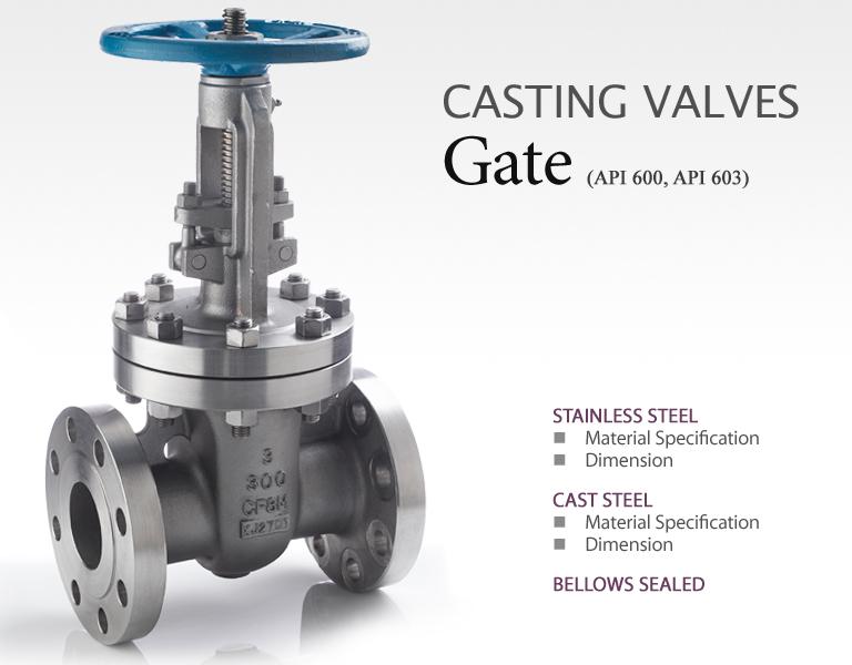 BAVCOS Casting Valves