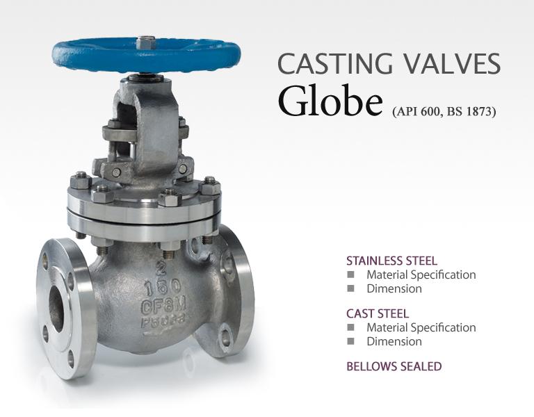 BAVCOS Casting Valves  1