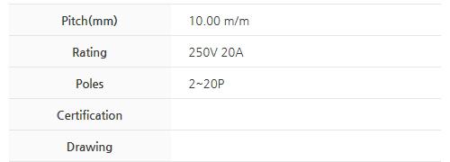 비룡전자 Terminal_Blocks 1003C 2