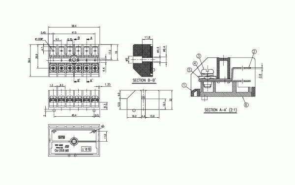 BEE RYONG Terminal_Blocks 950PD 1