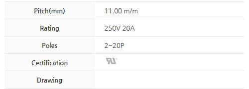 BEE RYONG Terminal_Blocks 1100DT(*L)