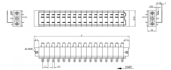 비룡전자 Terminal_Blocks 11BB 3