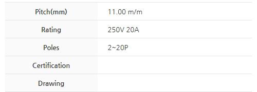 BEE RYONG Terminal_Blocks 1100DF(*L)