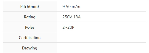 BEE RYONG Terminal_Blocks 950DMF(*L)