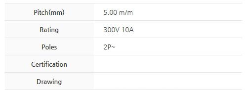 BEE RYONG Terminal_Blocks 500JL