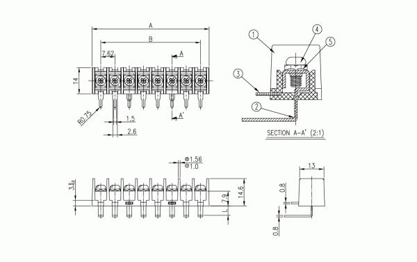 BEE RYONG Terminal_Blocks 762ELW 1