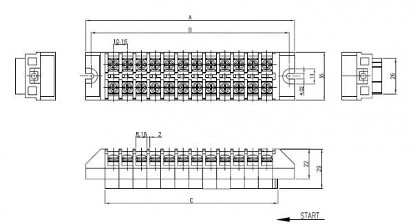 비룡전자 Terminal_Blocks 10FT 3