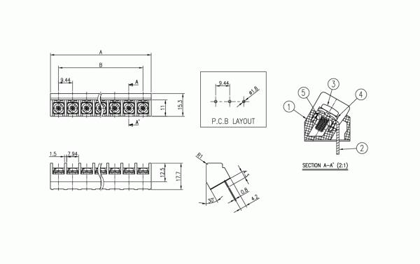 BEE RYONG Terminal_Blocks 944N 1