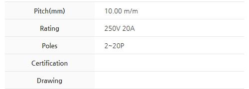 BEE RYONG Terminal_Blocks 1000F(*L)