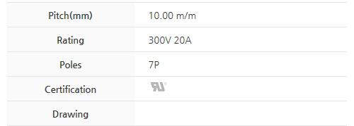BEE RYONG Terminal_Blocks 1000TLWC