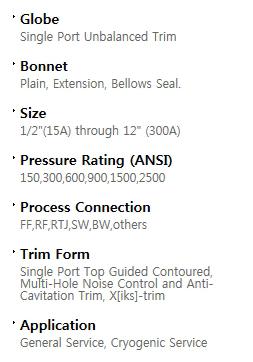 BFS Co., Ltd. Globe valve  1