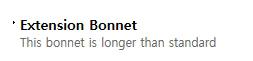 BFS Co., Ltd. Bonnet  3
