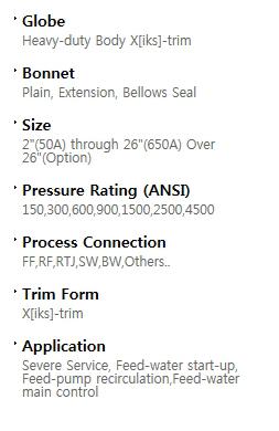 BFS Co., Ltd. Globe valve  7