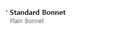 BFS Co., Ltd. Bonnet  1