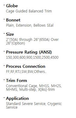 BFS Co., Ltd. Globe valve  4