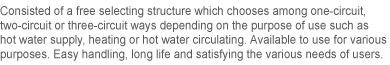 BOOSTER Vacuum Hot Water Boiler NRV-Series