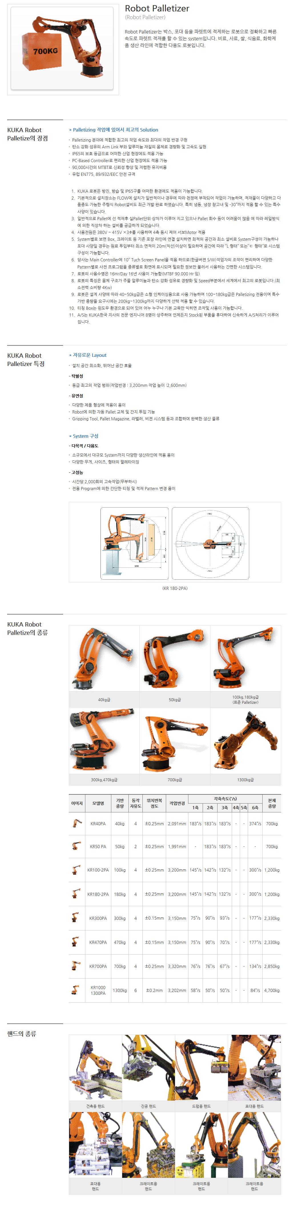 (주)보우시스템 Robot Palletizer  1
