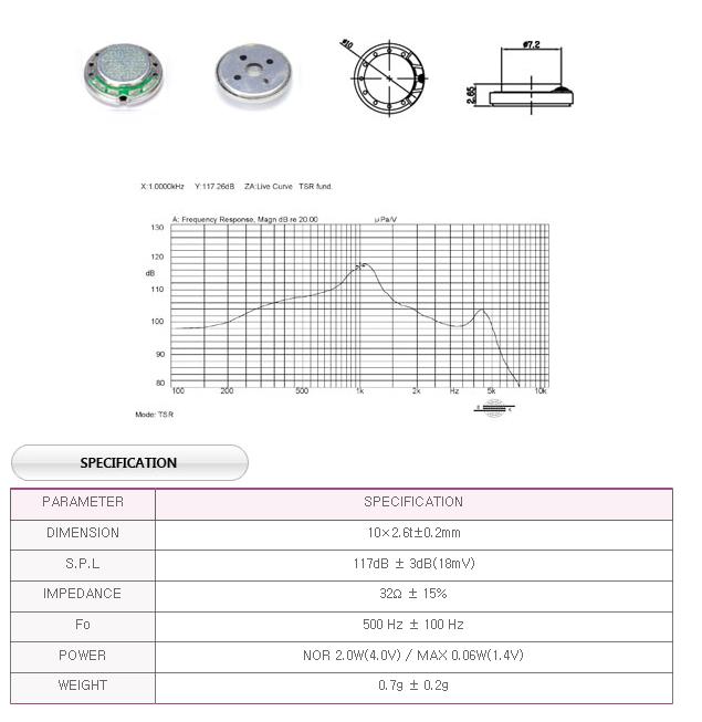 유니슨음향(주)  U1315016