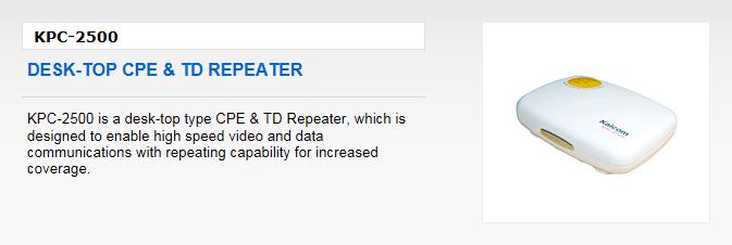 Kaicom Desk-Top CPE & TD Repeater KPC-2500