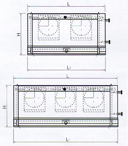 KyungDong R&H Ceiling & Floor Mounted Type NPA-Series