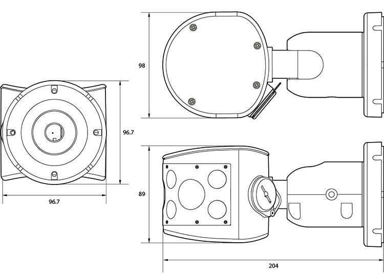 Camlux 2M-Camera CPR-H2040IR 2